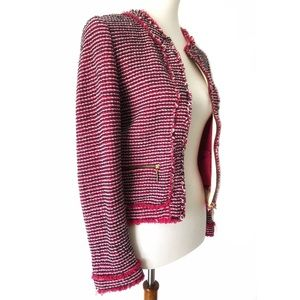 Zara | Pink Tweed Blazer or Jacket